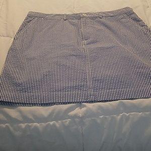 NWT Seersucker Skirt